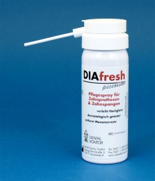 DIAfresh piccolino Prothesenpflegespray 40ml 100 Dosen